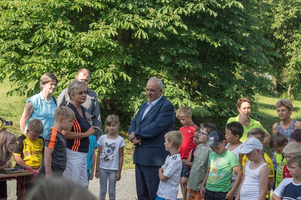 Weitsprunganlage der Grundschule Nohra